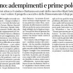 2014070201592623685_VOCE DI ROMAGNA RIMINI E SAN MARINO - POLITICA REGIONALE - Morciano- adempimenti e prime polemiche